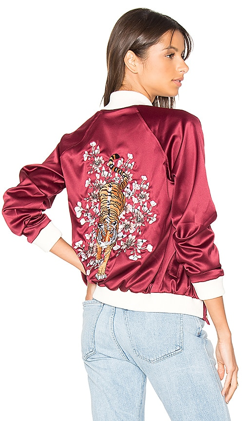 Lovers + Friends x REVOLVE The Nomad Bomber in Red