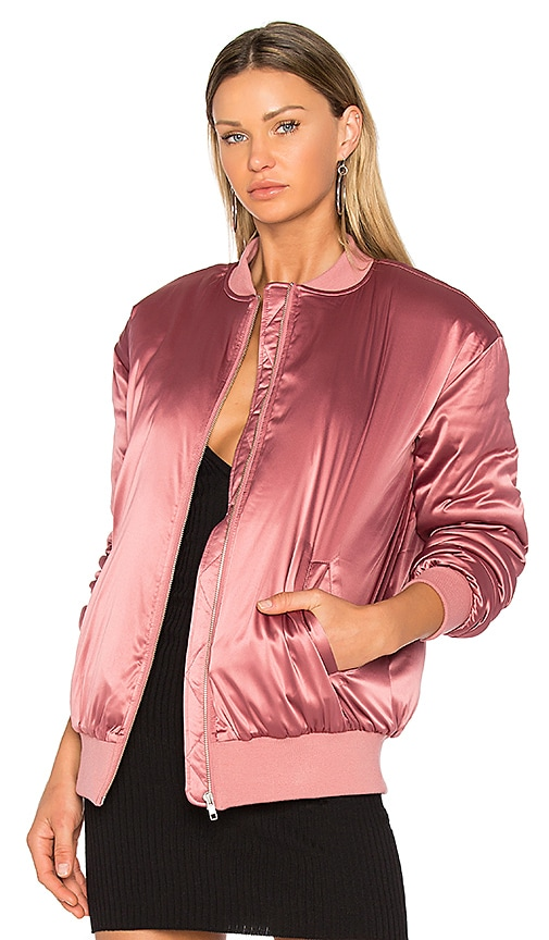 Lovers + Friends x REVOLVE My Lover Bomber in Rose