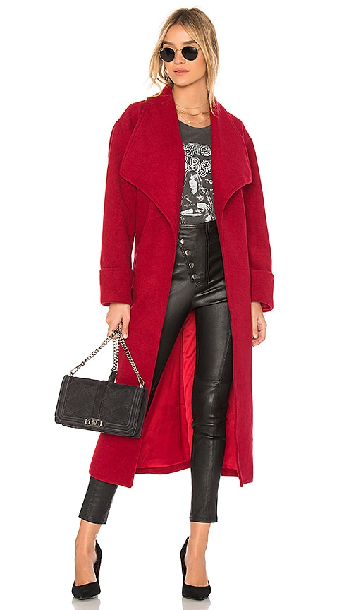 Lovers + Friends x REVOLVE Maddie Coat in Red