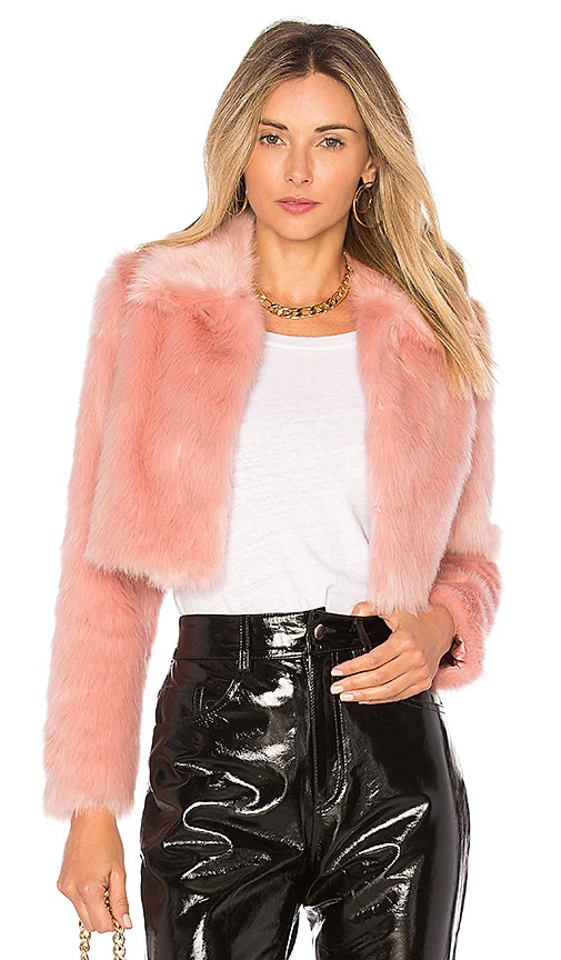 x REVOLVE Dixie Fur Jacket
