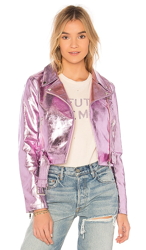 Lovers + Friends x REVOLVE Grant Jacket in Pink