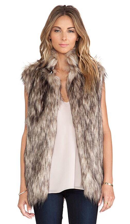 Camille Faux Fur Vest