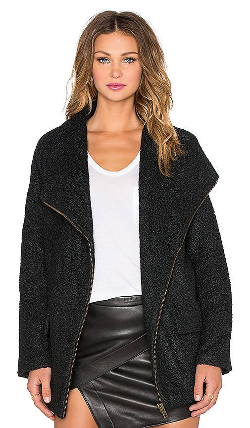 Lovers + Friends x REVOLVE Merci Coat in Black