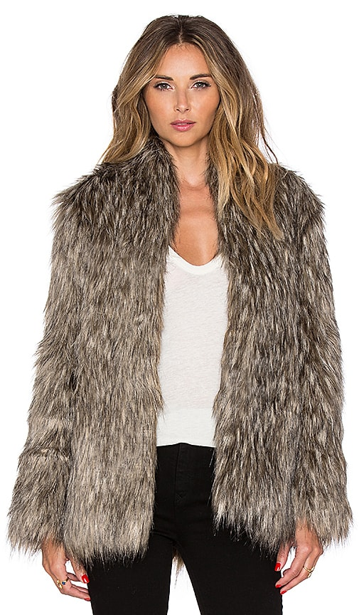 Selena Faux Fur Coat