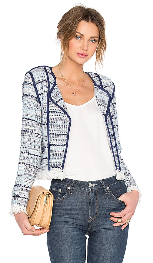 Lovers + Friends Juniper Jacket in Blue Multi