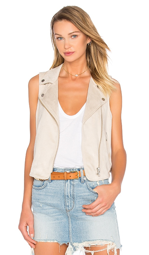 Lovers + Friends Elliot Vest in Taupe