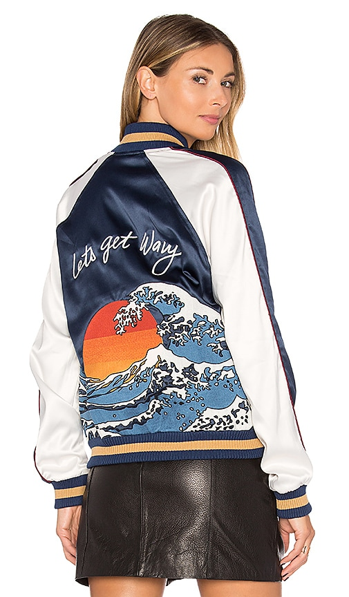 Lovers + Friends x REVOLVE The Exclusive Bomber in Navy