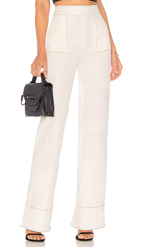 Lovers + Friends Sedge Pant in White