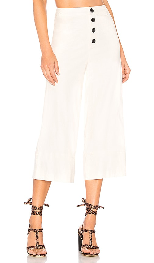 Lovers + Friends Kathy Pant in Ivory