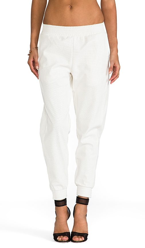 Lovers   Friends for REVOLVE Track Pants in White | REVOLVE