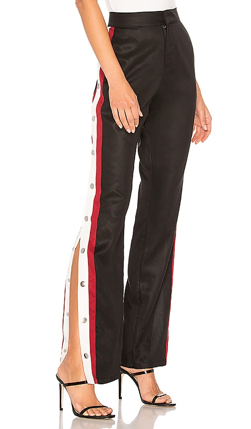 Tailored Snap Track Pant