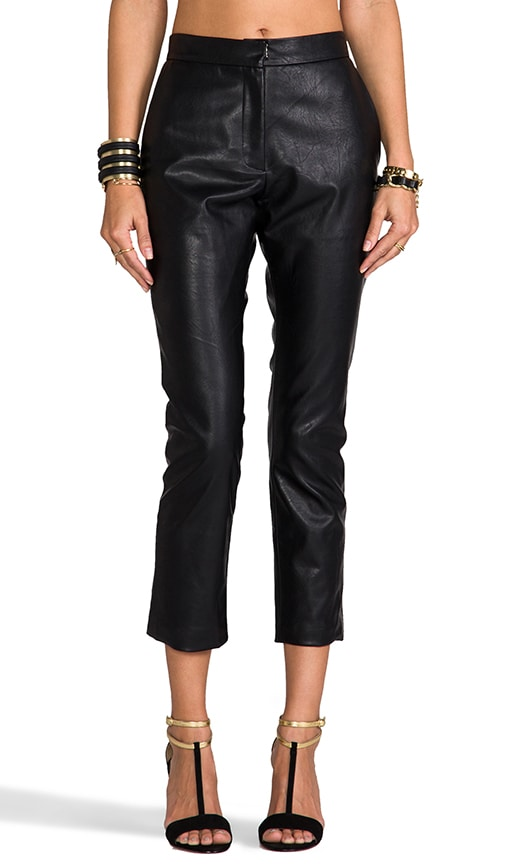 Wilson Vegan Leather Trouser