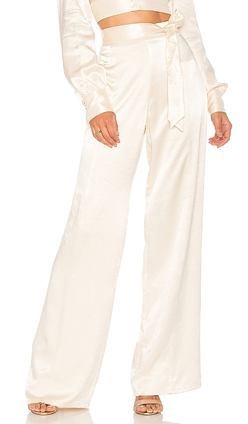 Lovers + Friends Campos Pant in Cream