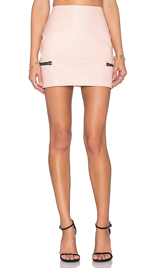 Lovers + Friends x REVOLVE Good To Be Bad Mini Skirt in Pink