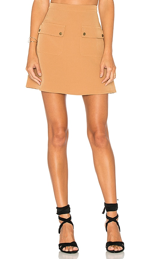 Lovers + Friends x REVOLVE Sienna Skirt in Tan
