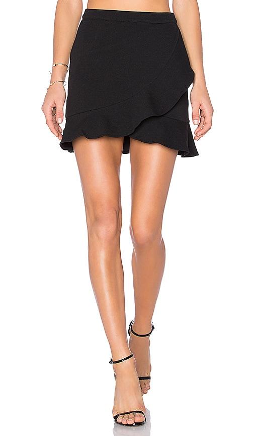 Lovers + Friends Stellar Skirt in Black