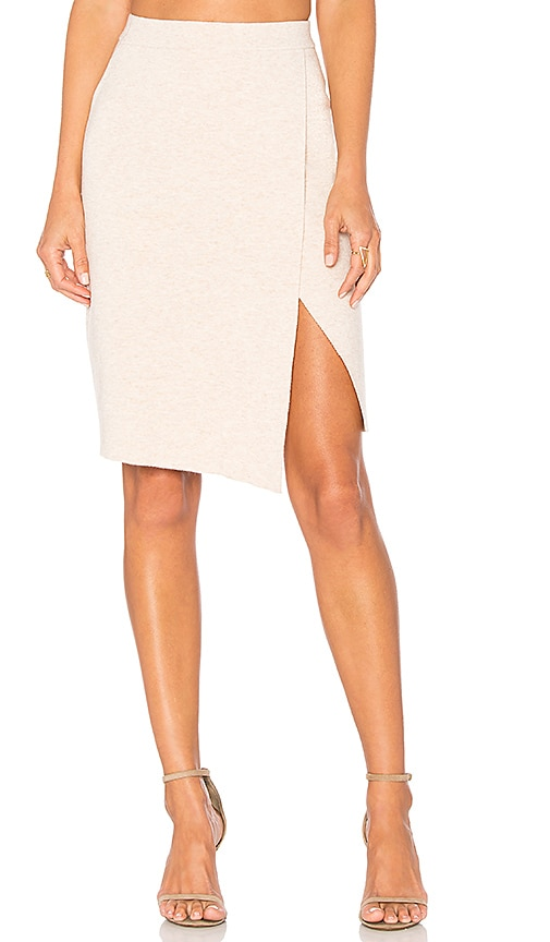 Lovers + Friends Gemma Skirt in Beige