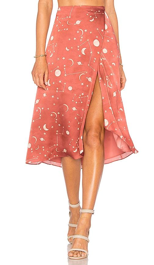 x REVOLVE Margarita Midi Skirt