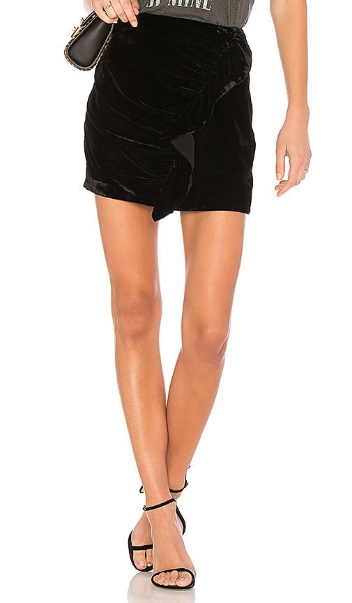 Lovers + Friends x REVOLVE Lisa Ruffle Skirt in Black