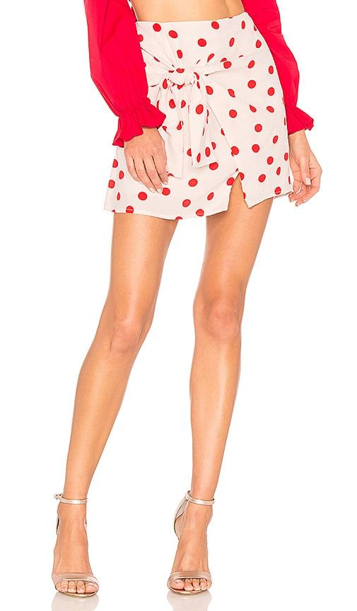 Lovers + Friends Quinn Skirt in Blush