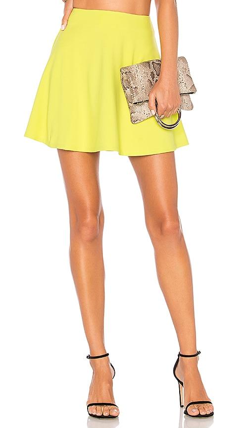 Lovers + Friends Hartman Skirt in Lemon
