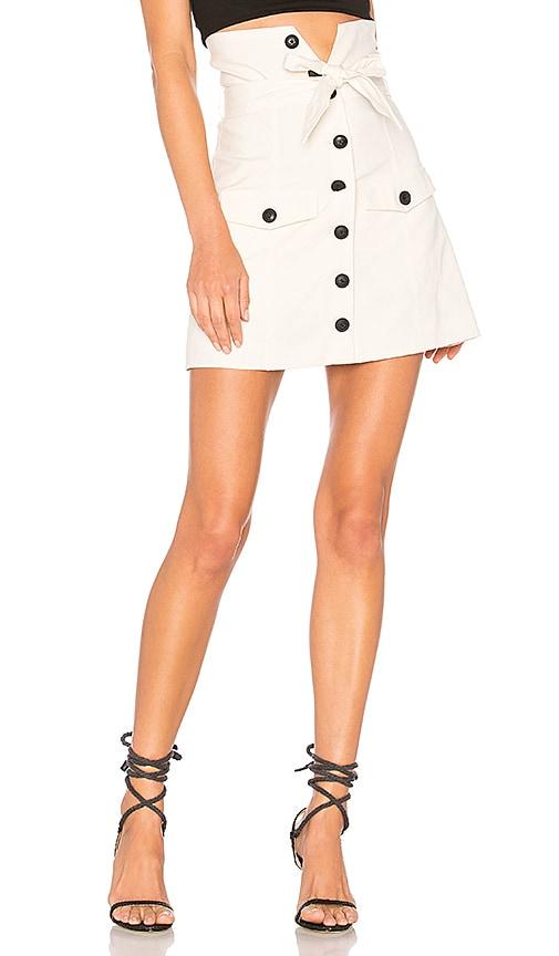 Lovers + Friends Davola Skirt in Ivory