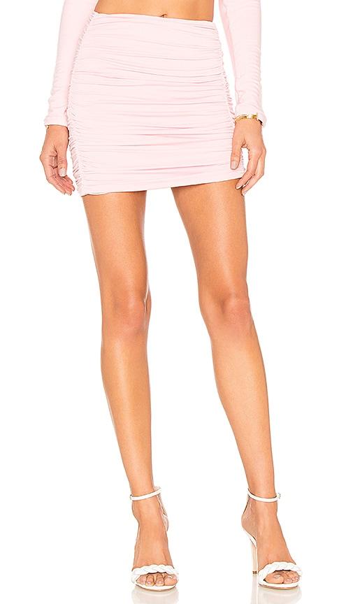Lovers + Friends Kylie Skirt in Pink