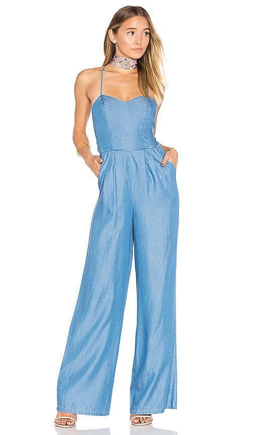 Womens Blue Jumpsuit | REVOLVE