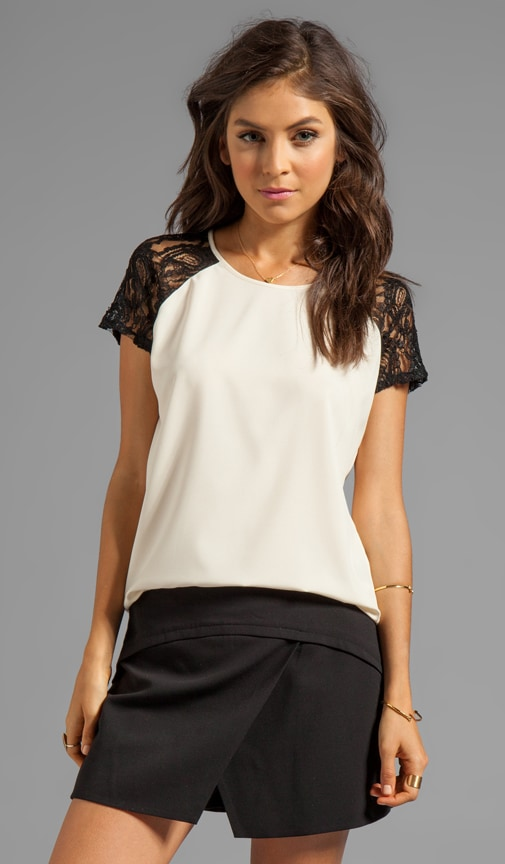 Heart Breaker Short Sleeve Blouse