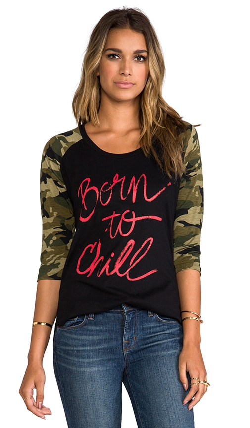 for REVOLVE Born To Chill Baseball Tee