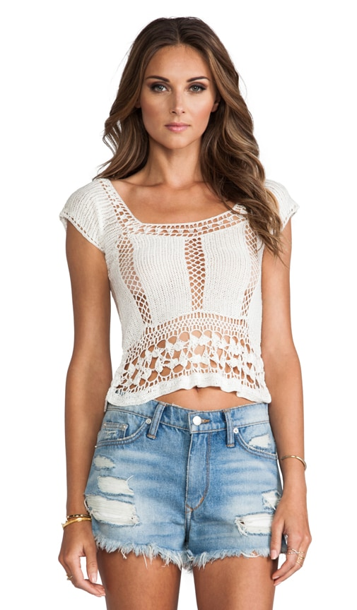 Calisto Crochet Top