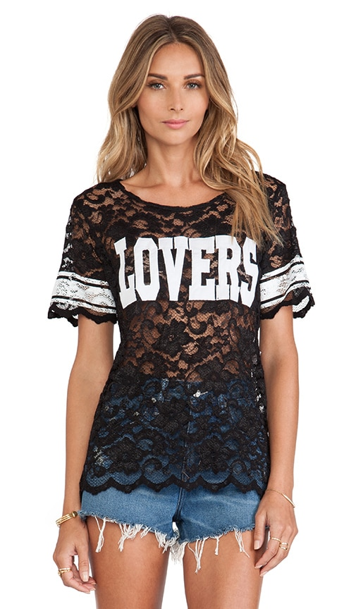 Lovers Lace Athletic Tee
