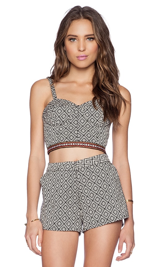 Havannah Nights Crop Top