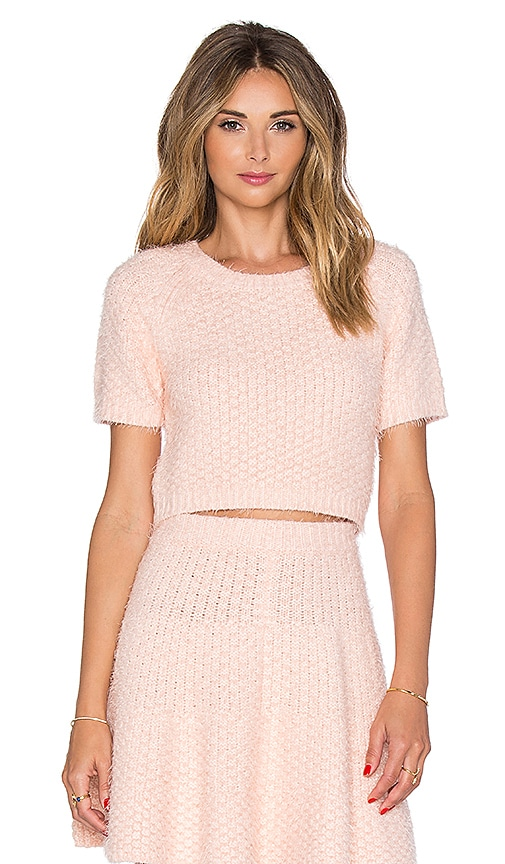 Lovers + Friends x REVOLVE Be Flirty Crop Top in Pink