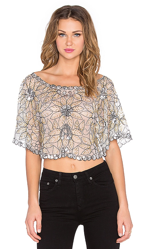 Starry Night Crop Top