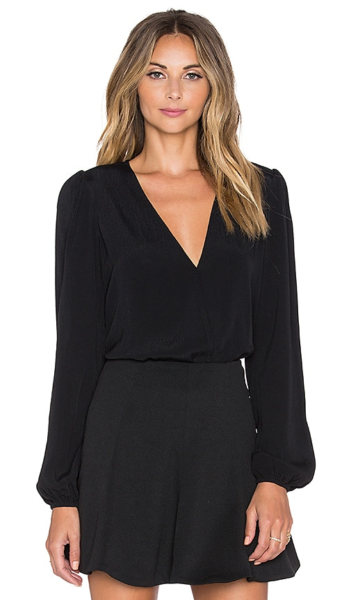 x REVOLVE Vision Long Sleeve Bodysuit