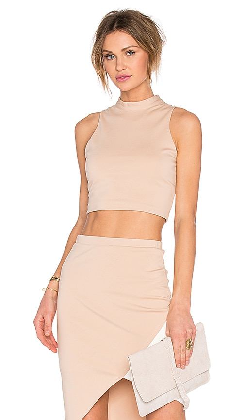 Lovers + Friends x REVOLVE Mademoiselle Crop Top in Blush