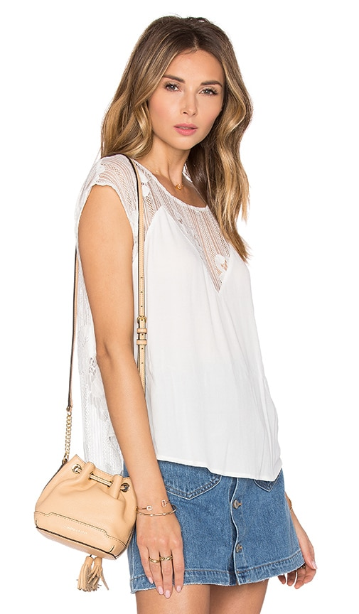 Lovers + Friends Emrey Top in White