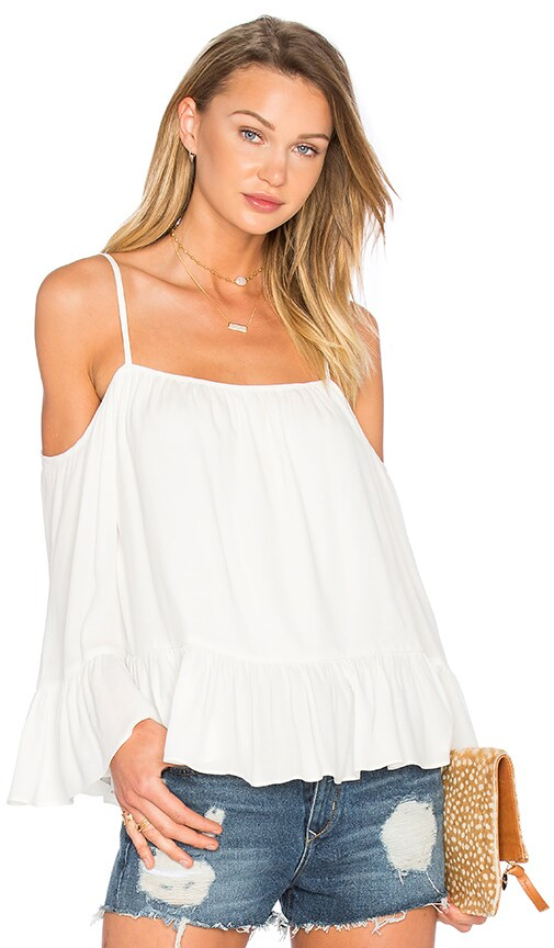 Lovers + Friends Maison Top in Ivory