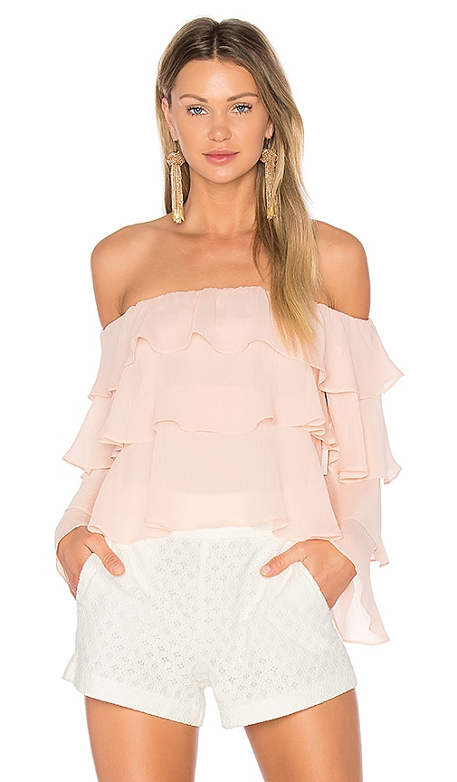 Lovers + Friends x REVOLVE Zayn Top in Pink