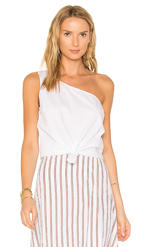 Lovers + Friends x REVOLVE Tie That Top in White