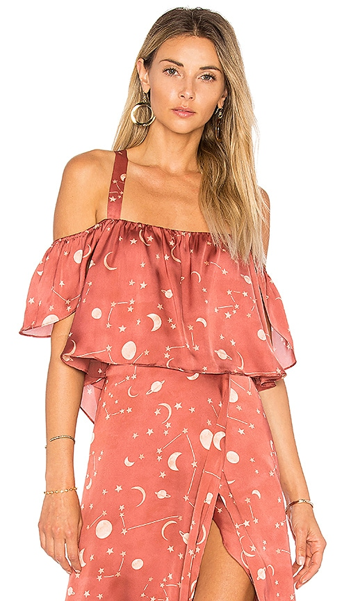 Lovers + Friends x REVOLVE Ray Of Light Top in Rose