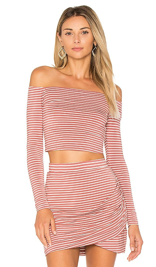 Lovers + Friends Megan Top in Rose