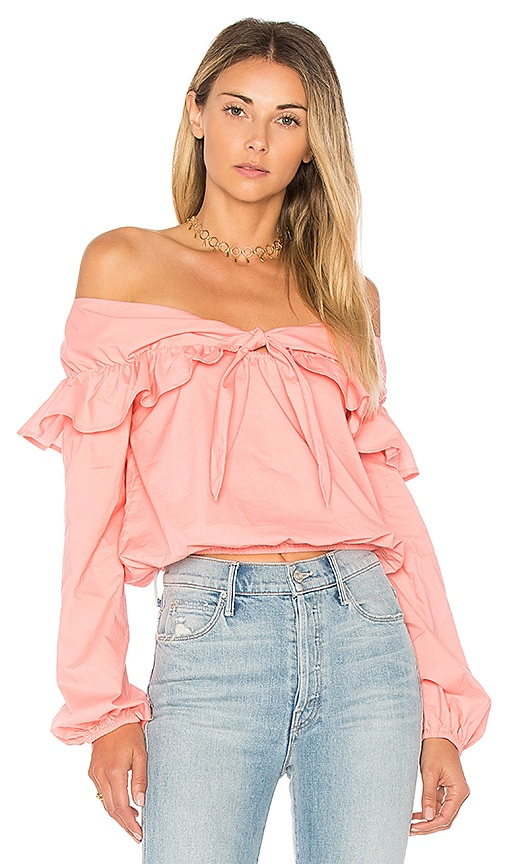 Lovers + Friends X REVOLVE Rebecca Top in Pink