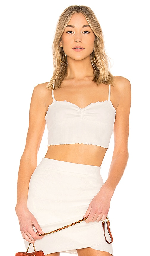 Lovers + Friends Alex Top in Ivory