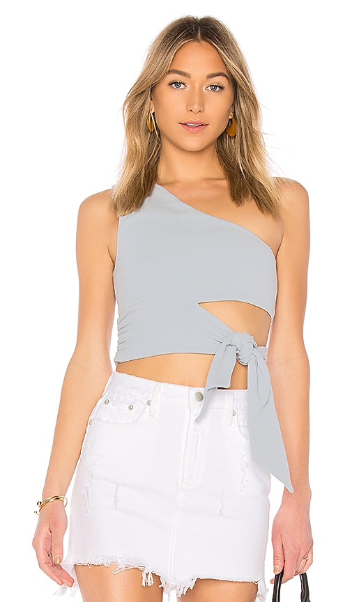 Lovers + Friends Winona Top in Baby Blue