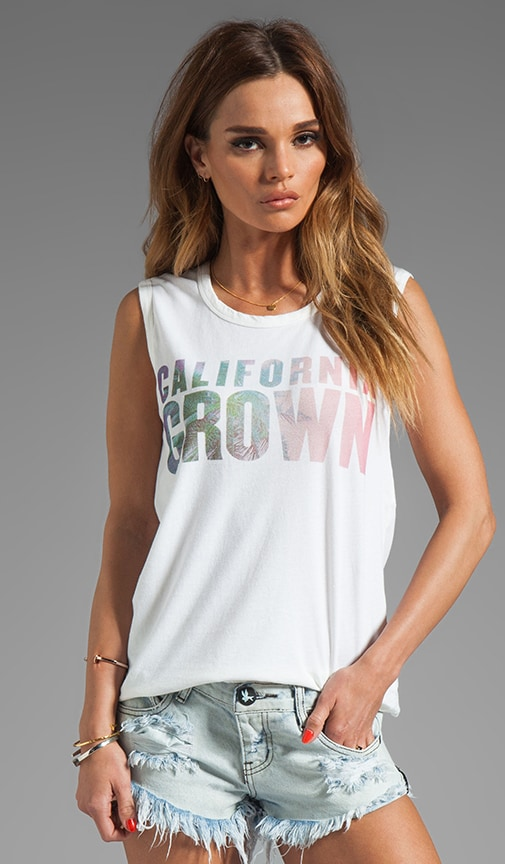 California Grown Graphic Tank