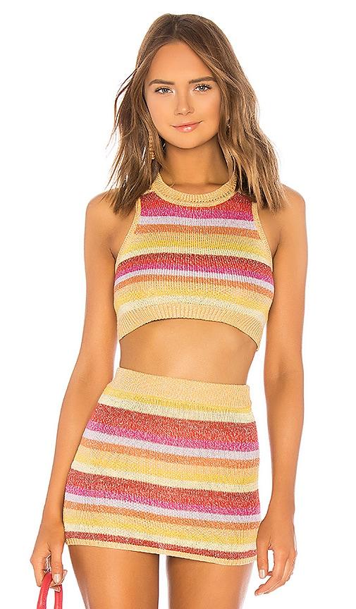 Sunset Crop Sweater
