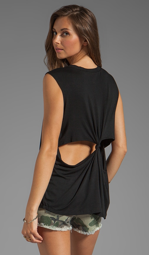 She's A Women Tank with Back Cut Outs