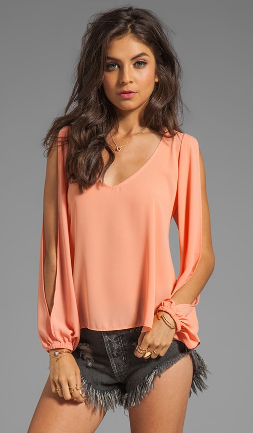 Day Dream Open Sleeve Top
